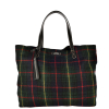 ODEON - Wool and leather tote bag