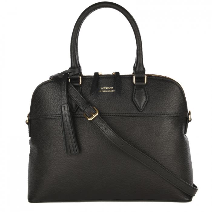 VICTOIRE - Classic grained leather handbag