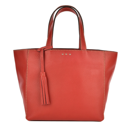 Small PARISIAN tote bag - Grained leather