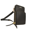 JILL - Natural leather telephone pouch
