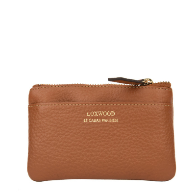 Small and timeless leather purse