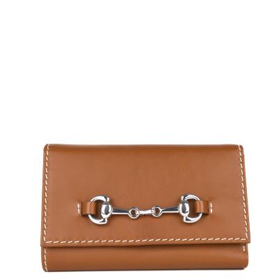 COMPAGNON - Petit portefeuille / porte monnaie en cuir naturel