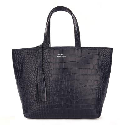 Small croc leather PARISIAN tote bag