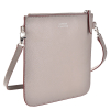 FLOPPY - Grained leather flat clutch