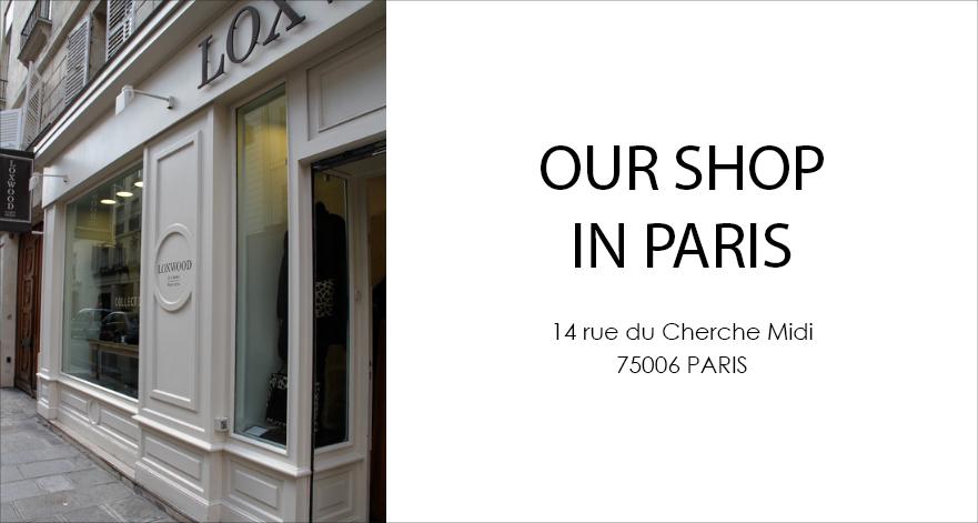 boutique loxwood Paris rive gauche